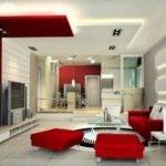 White Modern Living Room Best Ideas