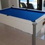 White Monarch Fusion Pool Table
