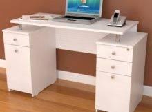 White Office Desk Designs Ideas Plans Design