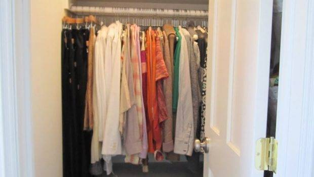 White Small Square Walk Closet Ideas Floating