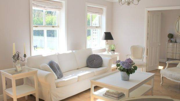 White Sofa Living Room Decorating Ideas Decosee
