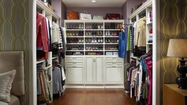 White Walk Closet Solid Wood Ikea Organizer More