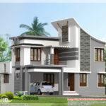 Wide Flat Roof Bedroom Home Design Keralahousedesigns
