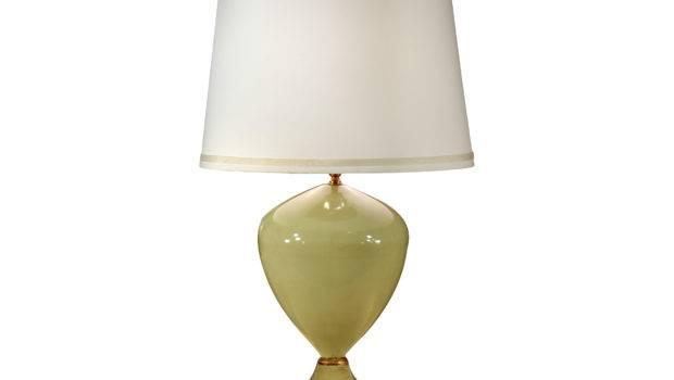 Wildwood Lamps Faux Ceramic Pretty Green Table Lamp