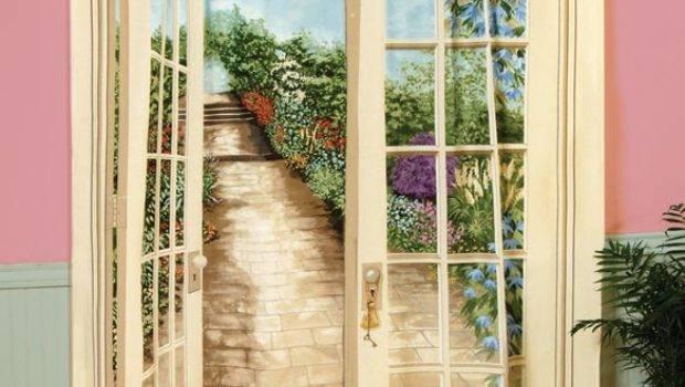 Window Art Curtains Scenic