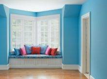 Window Colorful Cushions Wide Room Calming Paint Colors