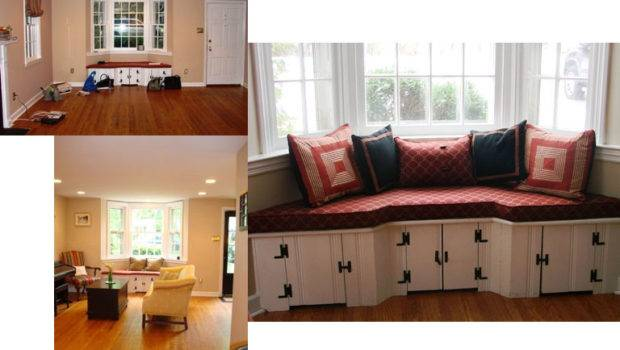 Window Sofa Before After