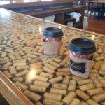 Wine Cork Countertop Diy Project Pinterest