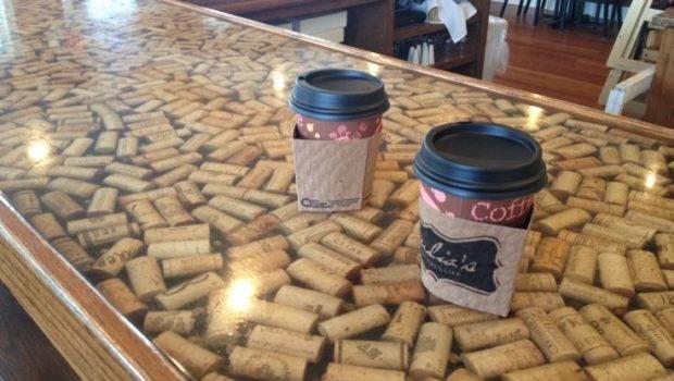 Wine Cork Countertop Diy Project Pinterest