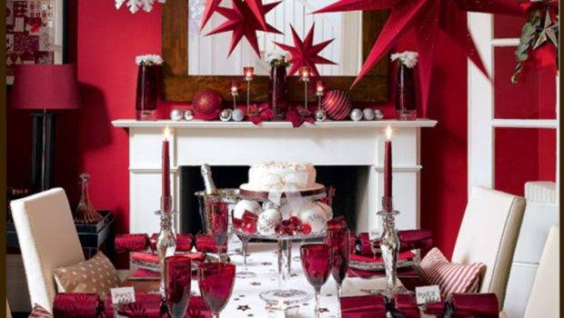 Wonderful Dining Room Table Christmas Decoration Ideas Gisprojects