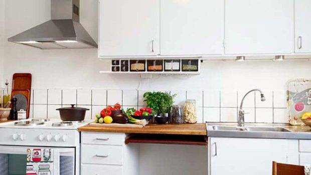 Wonderful Small Apartment Kitchen Design
