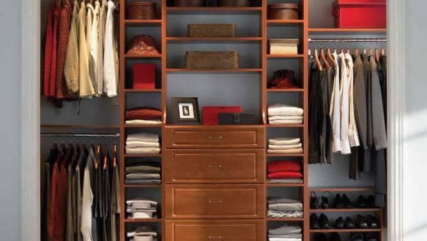 Wood Closet System Organizers Office