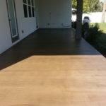 Wood Floor Construct Inexpensive Faux Flooring