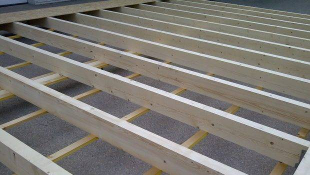 Wood Frame House Construction Phase Basic Structure