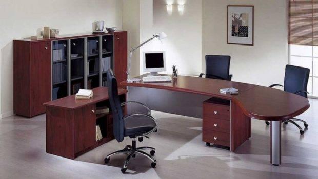 Wood Office Desk Modular Interior Design Ideas Cool