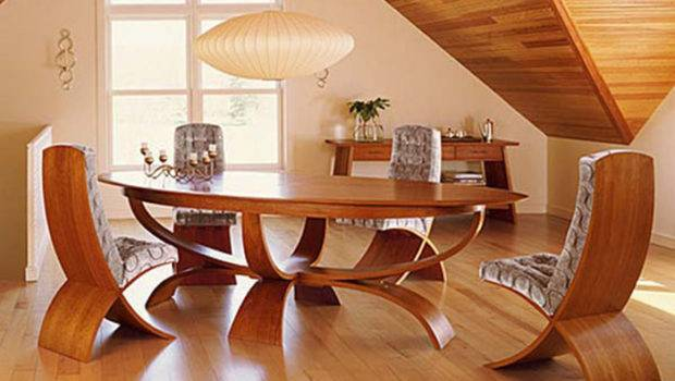 Wood Unique Dining Room Tables