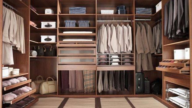 Wood Walk Closet Systems