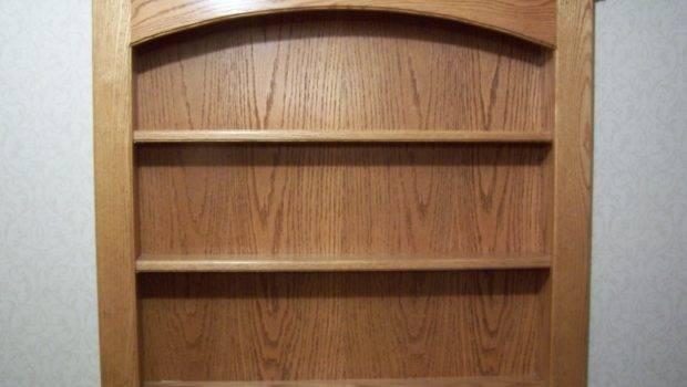 Wood Wall Mounted Shelf Unit