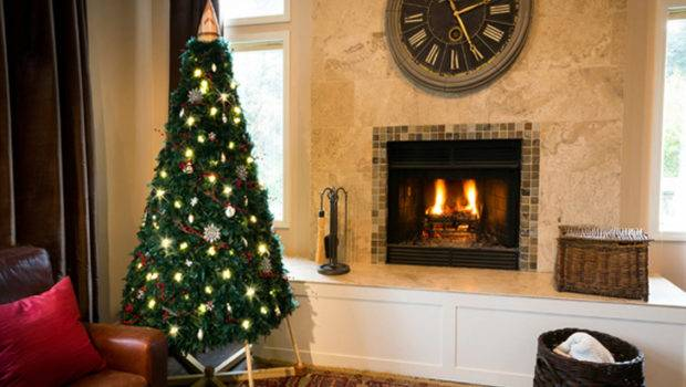 Wooden Christmas Tree Greener Holiday Season Jubiltree