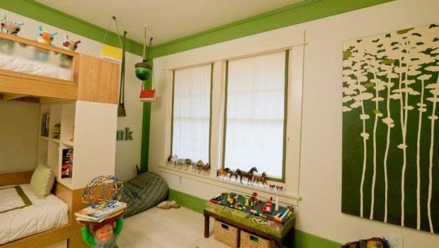 Woodland Themed Boy Room Kids Ideas Playroom Bedroom