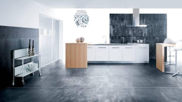 Workshop Modern Kitchen Tile Rectified Modular Through