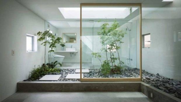 World Japanese Style Zen Bathroom Courtyard Accessories
