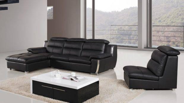 Xena Modern Leather Shape Sofa