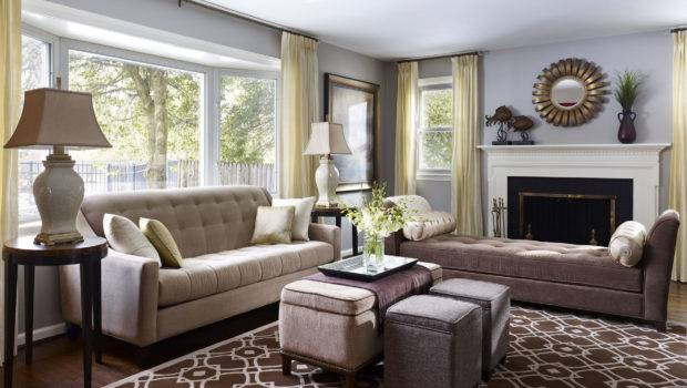 Your Design Style Transitional Decorating Den